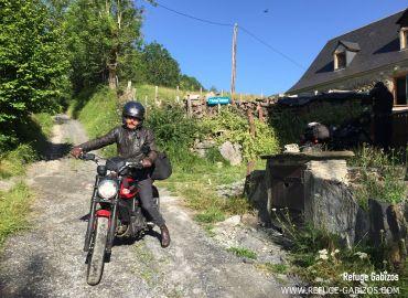 Etape pour nos amis motards